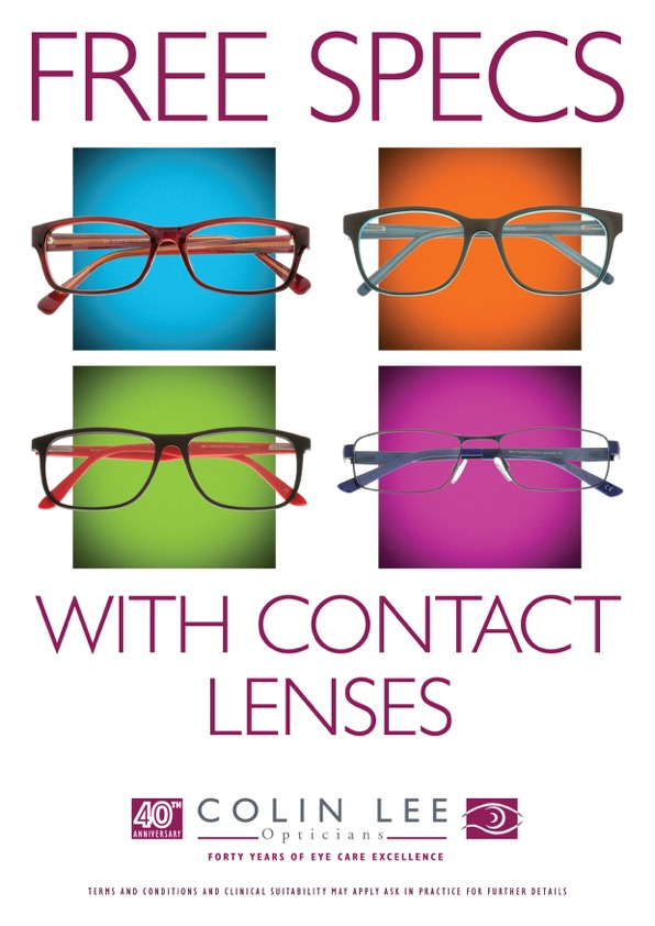 Free specs with contact lenses